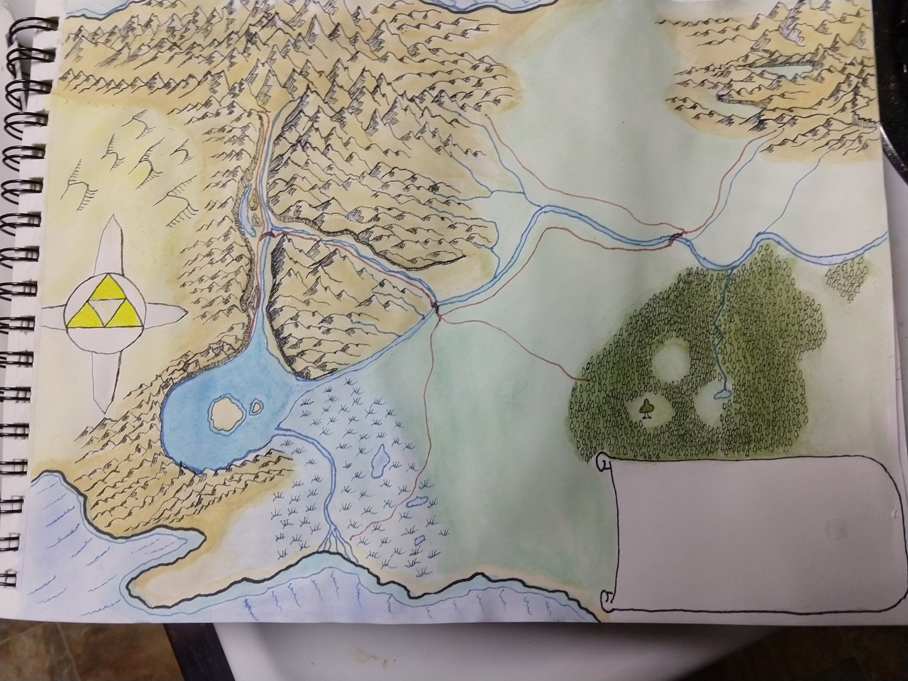 Legend of Zelda hand drawn map coloredx.jpg